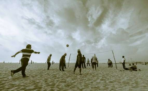 LDS mutual beach volleyball