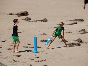 Combined Mutual Beach Cricket activity